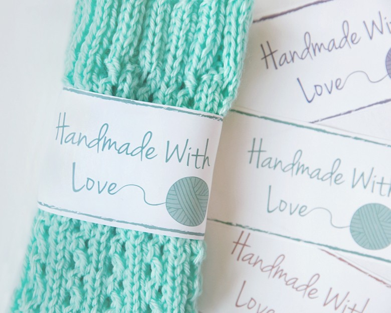 Crochet Gift Tag - Repeat Crafter Me | 624x780