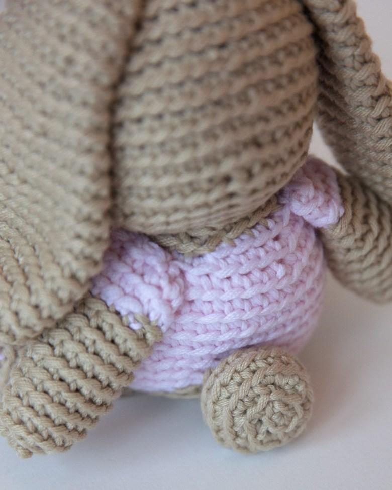 Free Crochet Bunny Pattern Leelee Knits