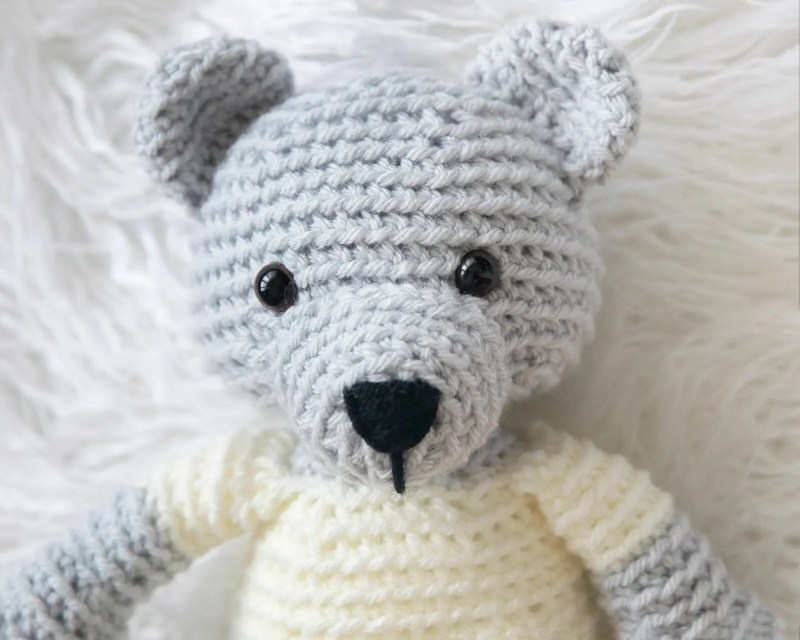 Crochet Teddy Bear Free Pattern Leelee Knits