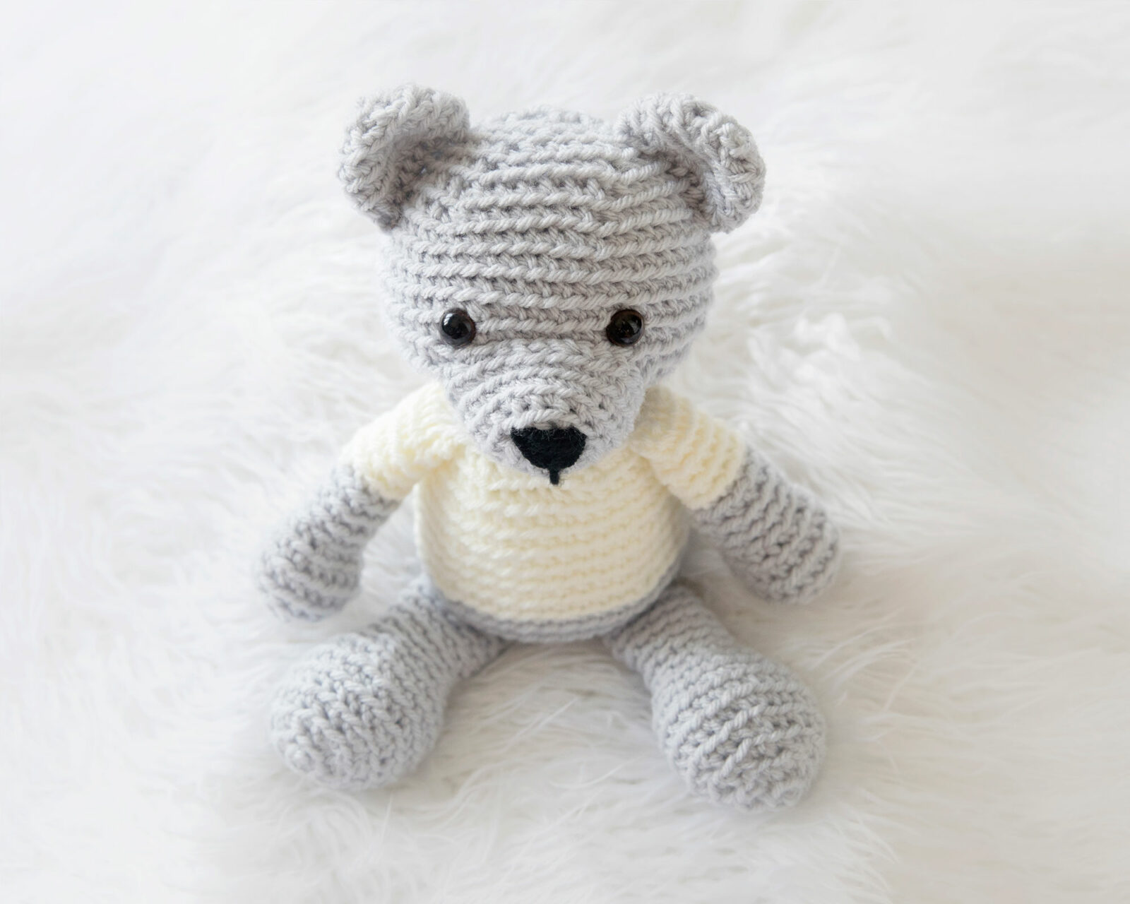Happyamigurumi: Lucas the Teddy Bear - Crochet Toy Pattern | 1600x2000