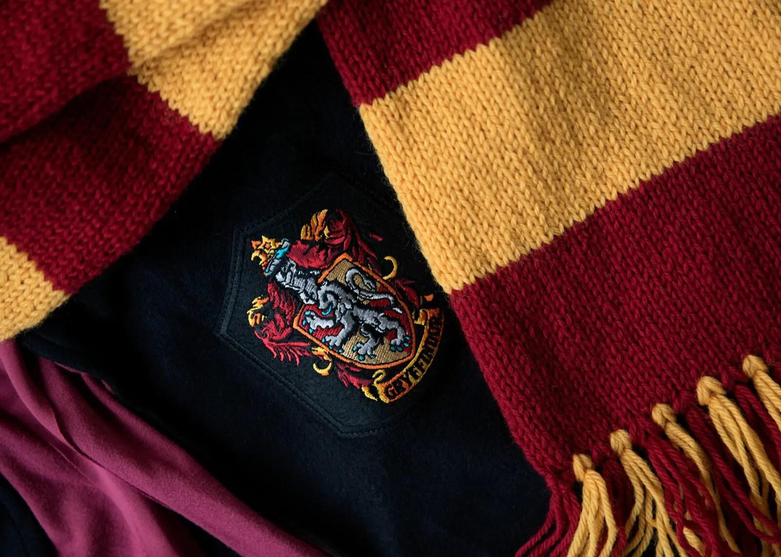 Harry Potter Hogwarts Gryffindor Scarf Pattern Leelee Knits