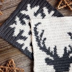 Holiday Potholders Free Pattern Leelee Knits