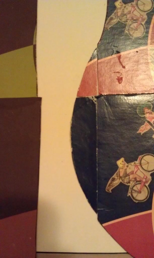 Closeup of the smaller pieces.