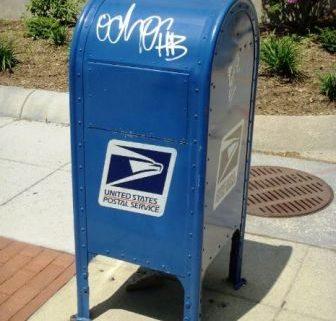June bugs mailbox