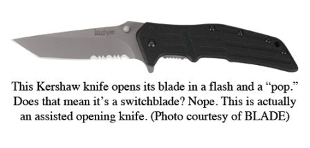 Benjamin Sobieck: Switchblades and Assisted Opening Knives