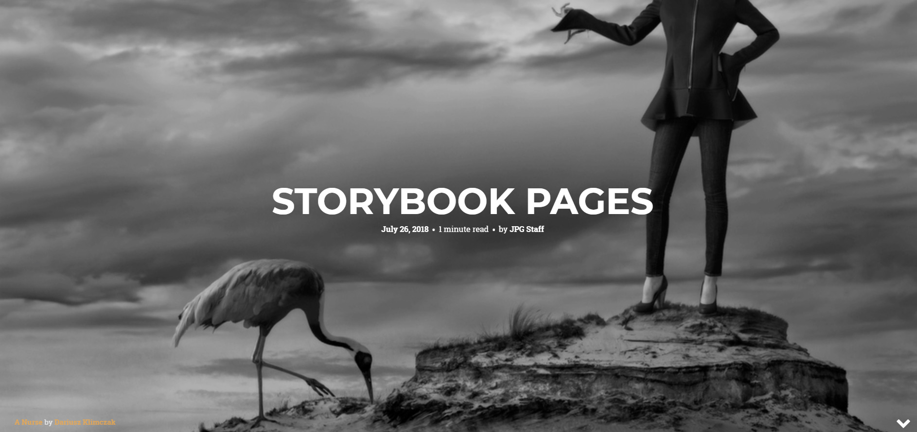 As Seen In…….Storybook Pages
