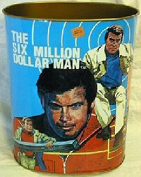 Image result for six million dollar man toy merchandise