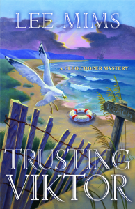 Trusting Viktor a Cleo Cooper Mystery by Lee Mims book cover