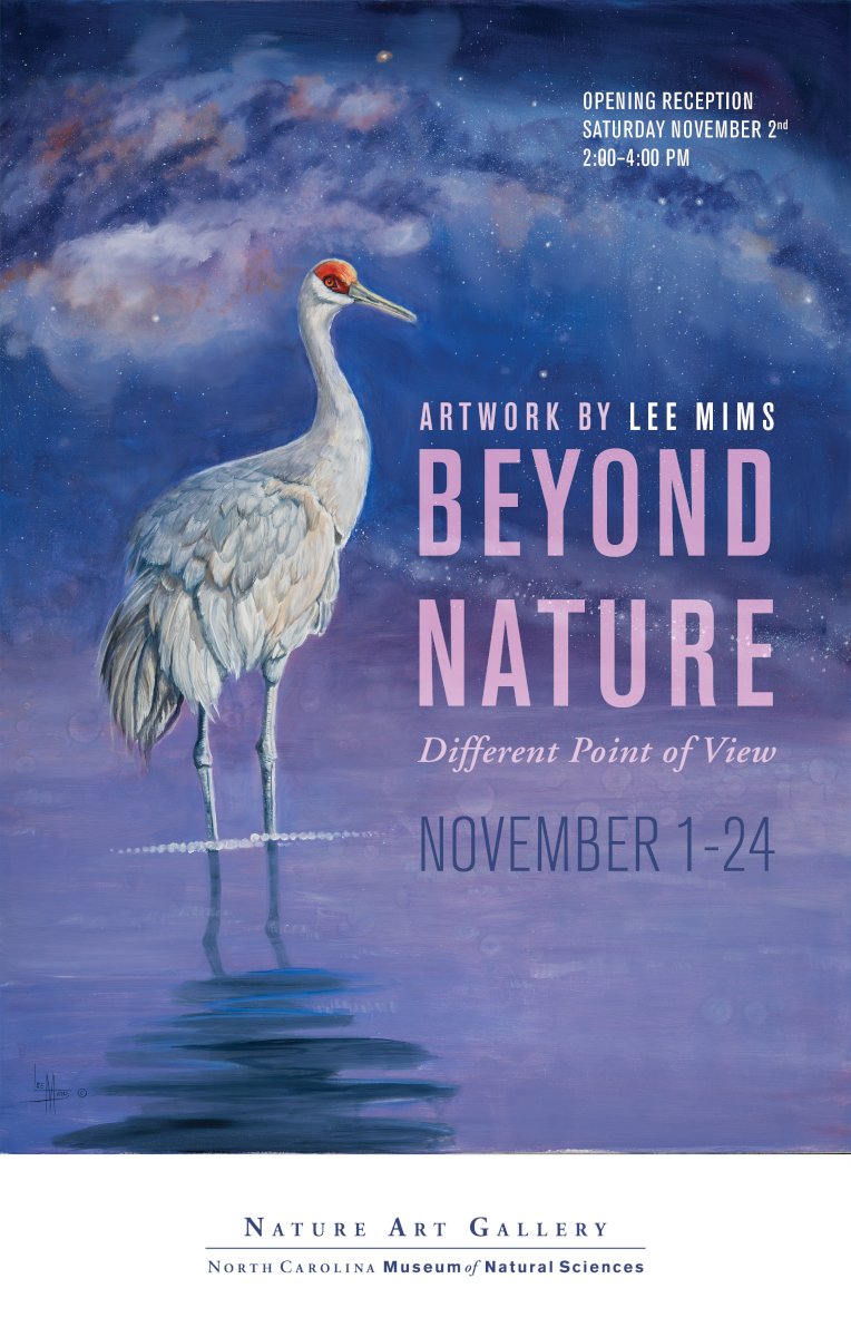 Beyond Nature Art Gallery Exhibit at the North Carolina Museum of Natural Sciences Poster