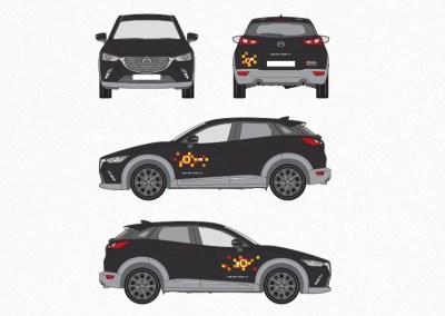 Bestickering auto's accountmanagers