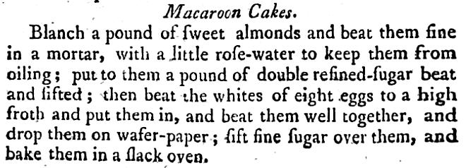 Macaroon Cakes