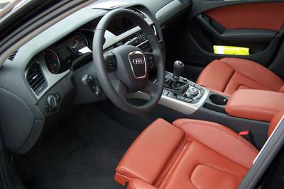 Audi binnenin