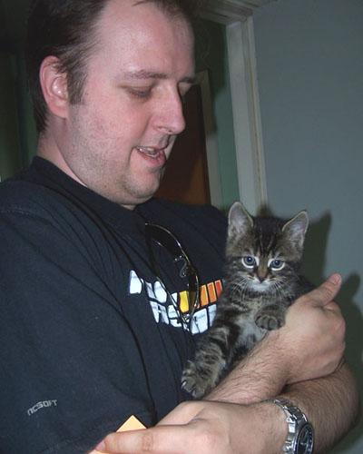 Joey in Stephans armen
