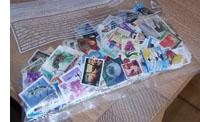 Stapeltje postzegels