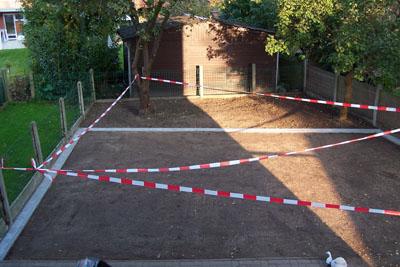De tuin vandaag op 13 Oktober 2007