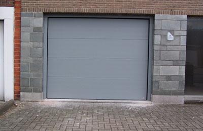 Onze nieuwe garagepoort
