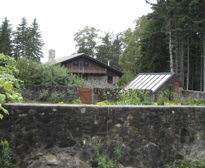 Scott Nearing's garden