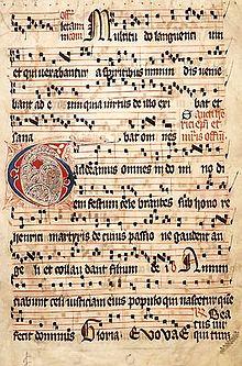 neumenschrift middeleeuwen