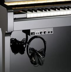 Silent piano