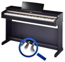 Pedalen gebruik piano