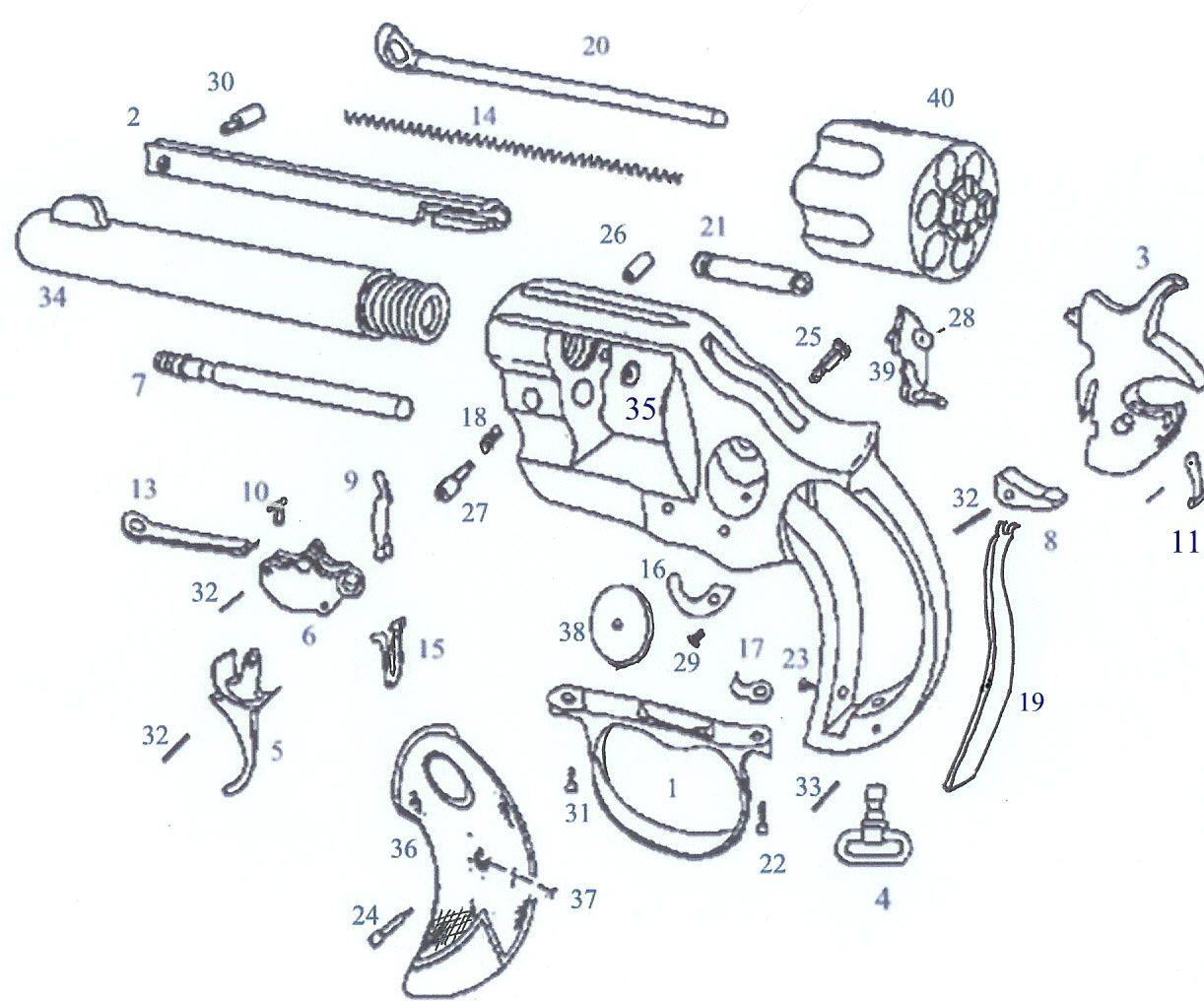 Racor 500 Exploded Parts Diagram