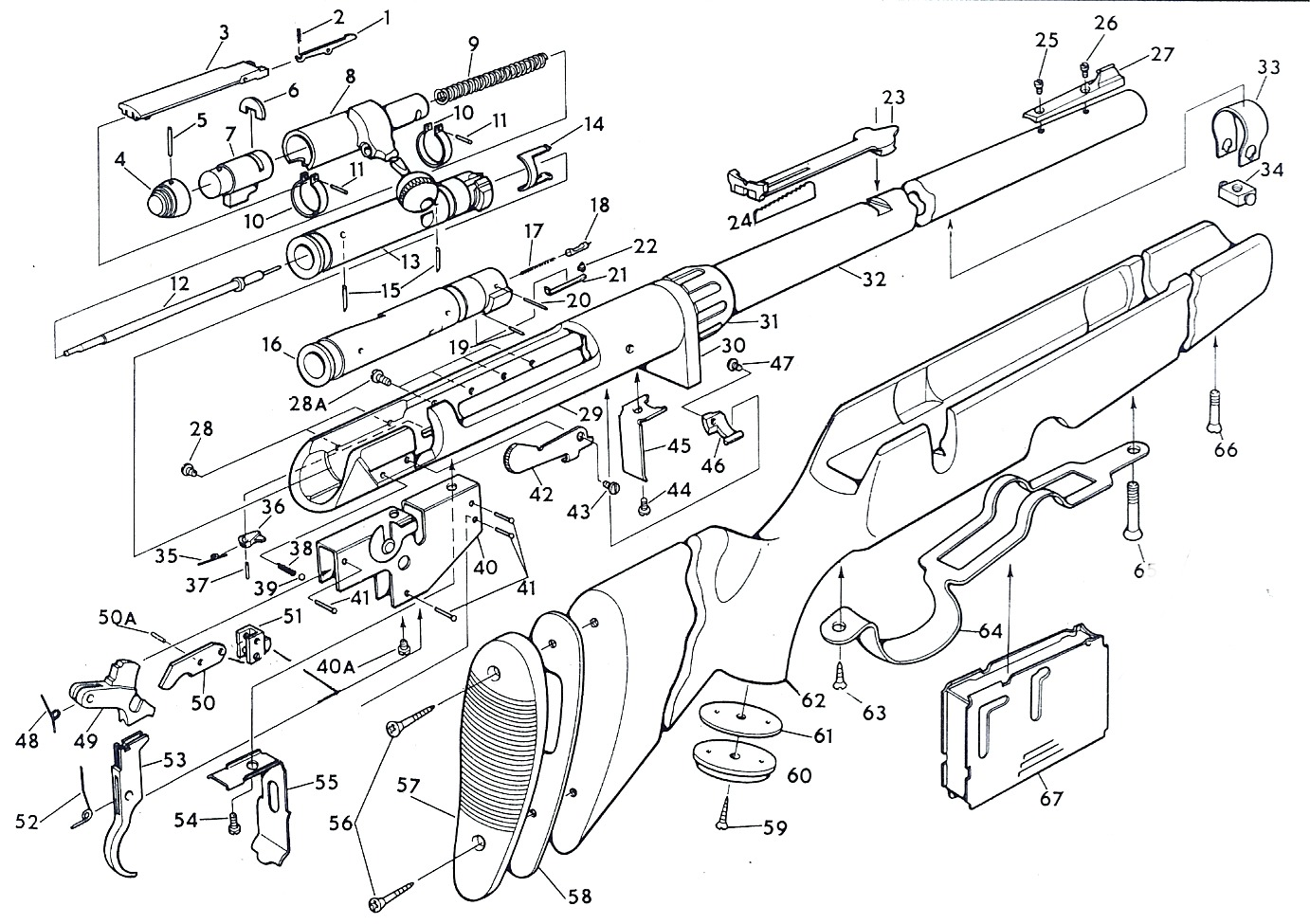 Savage 110 Parts Diagram
