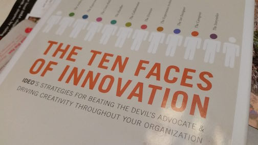Applying Anthropology techniques from The Ten Faces of Innovation for Better Infographics