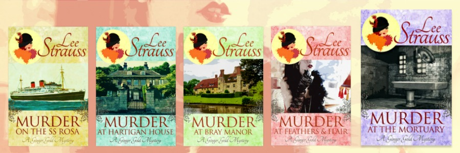 Ginger Gold Mysteries Series