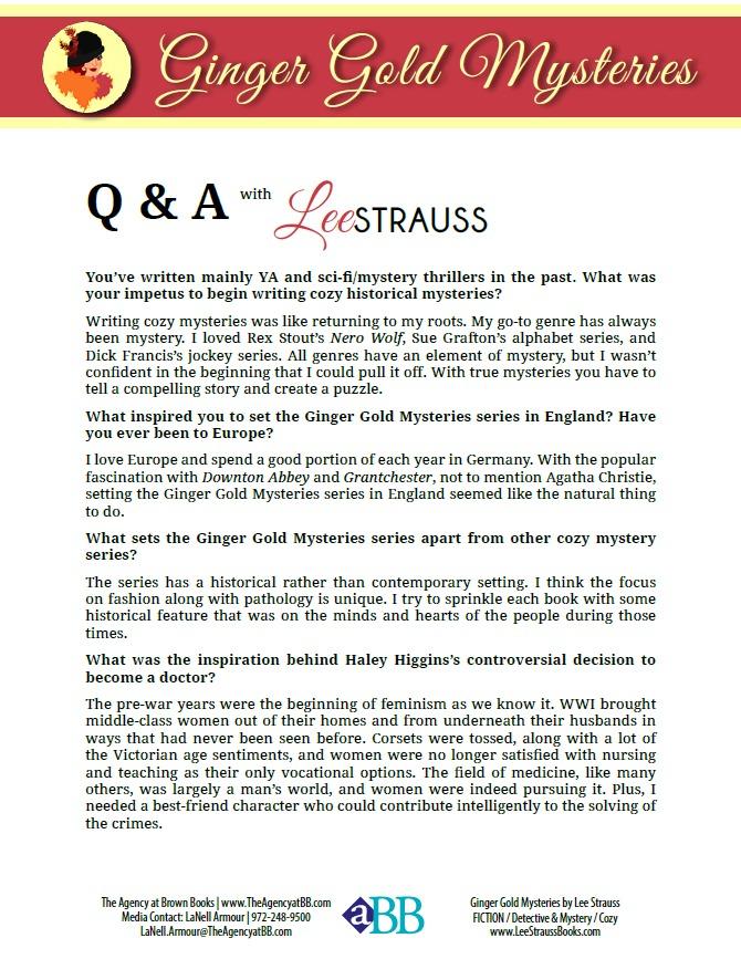 Lee Strauss Press Kit