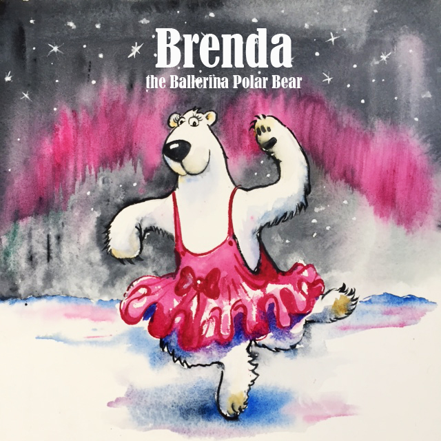 Brenda the Ballerina Polar Bear