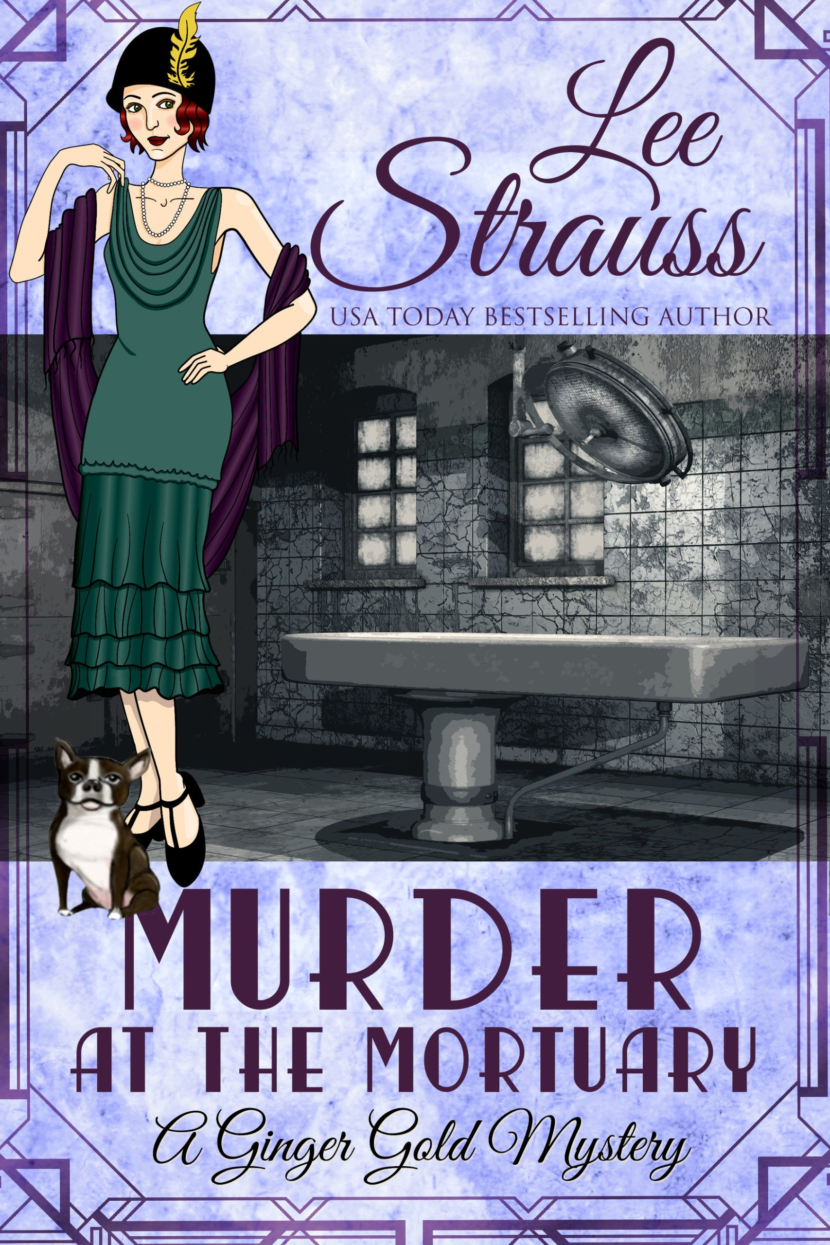 1920s Ginger Gold Mysteries, historical fiction