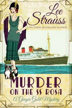 1920s cozy mystery book cover