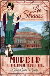 MurderRoyalAlbertHall book cover 1920s fiction lee strauss