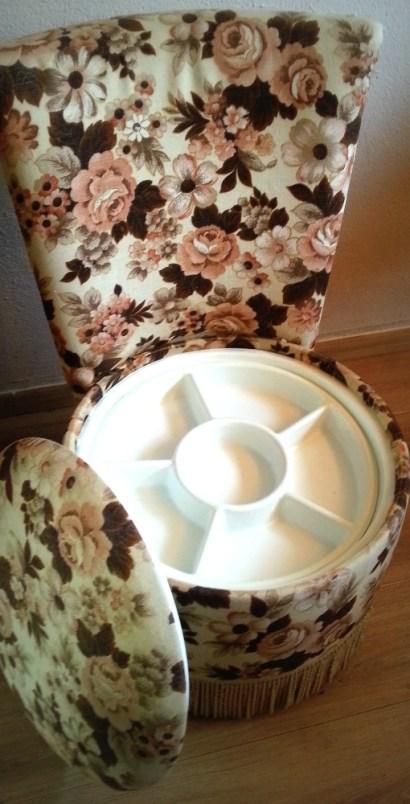 breistoel met leeg accessoirebakje