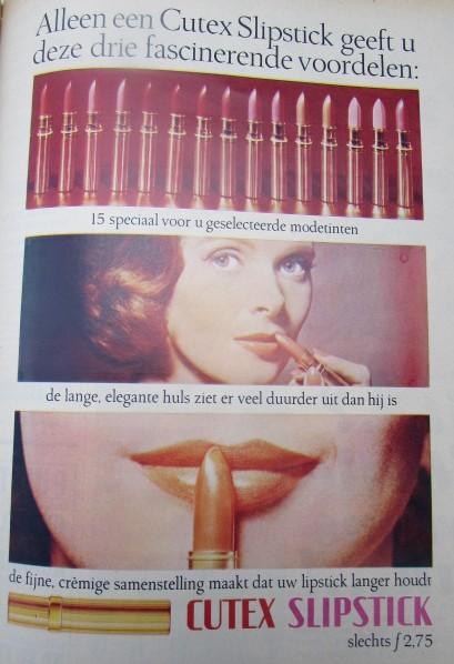 vintage reclame margriet 1965