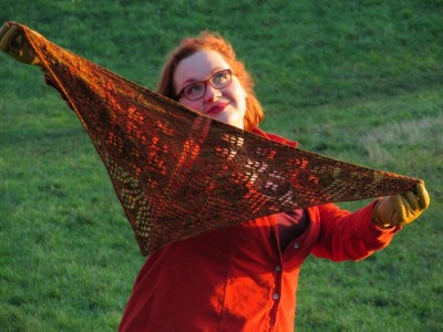 shawlette 3