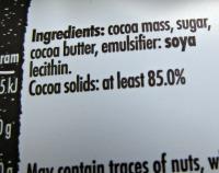 ingredienten hands off my chocolate