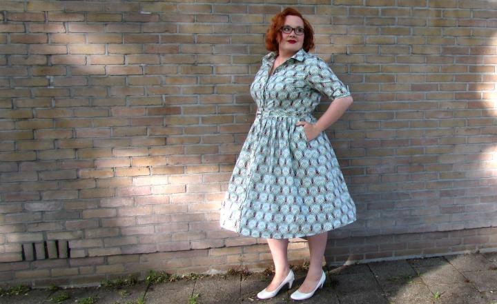 LeesVoer art nouveau jurk 5
