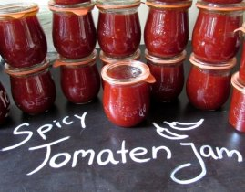 LeesVoer Spicy tomatenjam in potjes