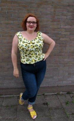 LeesVoer design to reality bloesje met broek