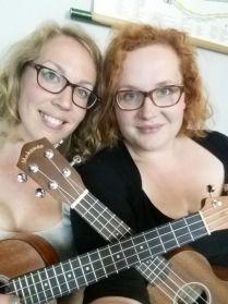 LeesVoer ukelele duo Lady Geek