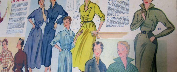 vintage franse modetijdschriften 2
