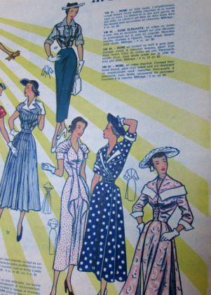 vintage franse modetijdschriften 3