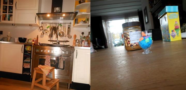 kleuter een echte fotocamera leesvoer blogger pindakaas play dough keuken
