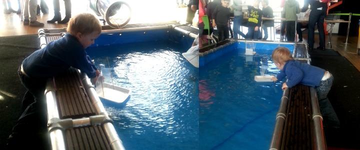 Science center nemo zeilboot peuter
