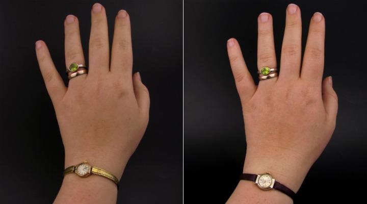 Vintage horloges opwindbaar fifties leesvoer 6 handen
