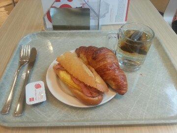 Koffie en lul voor ontbijt