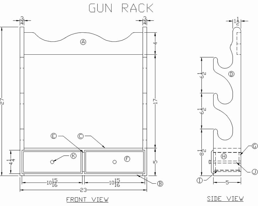 ... Gun Cabinet Plans Plans Woodworking lshaped bar plans free | shut10dvi