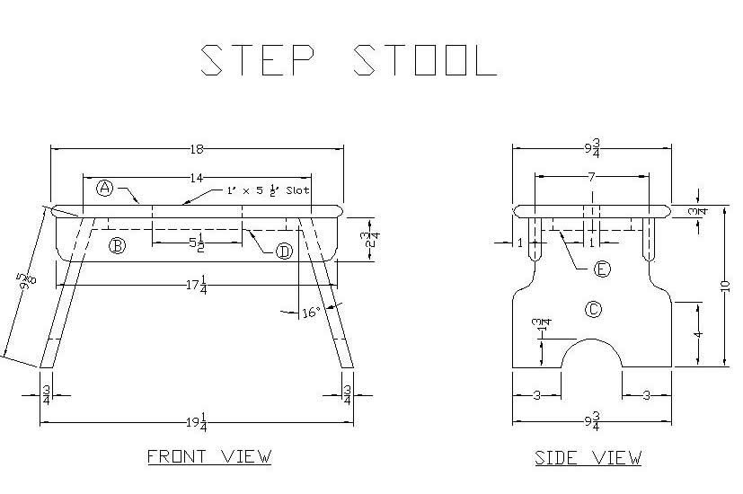 Woodwork Free Step Stool Wood Plans Pdf Plans