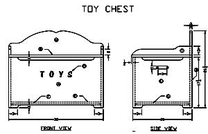 how to build a wooden toy box